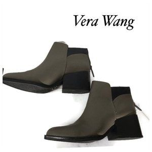 2/$30 🥂 Simply Vera Wang Grey Taupe Ankle Boot